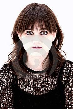 Emo Teen Headshot Stock Photography - Image: 9909222