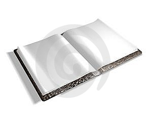 Empty Book Stock Image - Image: 9910921