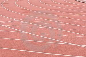 Running Track Royalty Free Stock Image - Image: 9912936