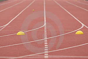 Running Track Royalty Free Stock Image - Image: 9912946