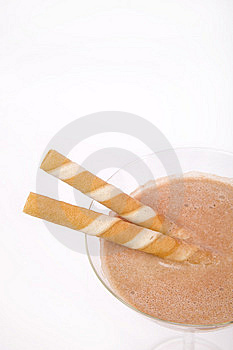 Chocolate Alcohol Drink Royalty Free Stock Photo - Image: 9915625