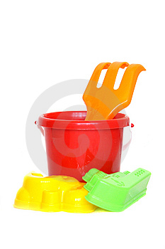 Sandbox Toys Royalty Free Stock Images - Image: 9917899