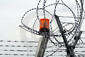 Barbed Wire Royalty Free Stock Photo - Image: 9918145
