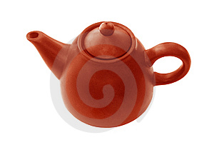 Clay Teapot Stock Image - Image: 9925911