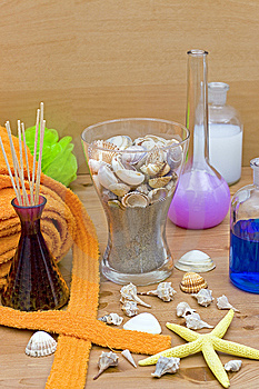 Accessories For The Well Being Stock Photography - Image: 9930542