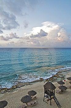 Morning Beach Stock Photos - Image: 9930903