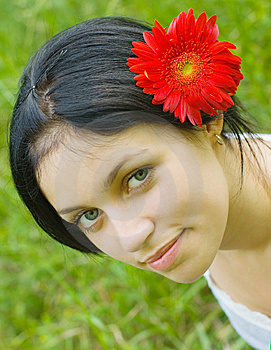 Portrait Of Beauty Girl Stock Photos - Image: 9933133