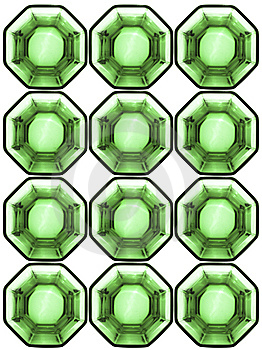 Background From Octagonal Glass Cells Stock Images - Image: 9935074