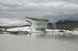 Floating Icebergs Stock Photo - Image: 9936890