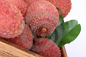 Litchi Royalty Free Stock Photos - Image: 9938828