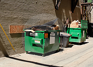 Trash Stock Image - Image: 9942561