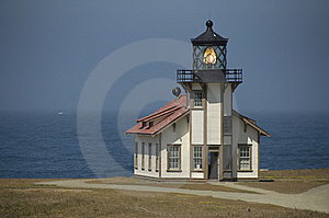 Lighthouse On The California Coastline Stock Photography - Image: 9942642