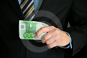 Givig Euro Stock Images - Image: 9942814
