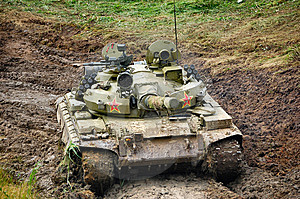 Russian Tank Royalty Free Stock Photos - Image: 9943128