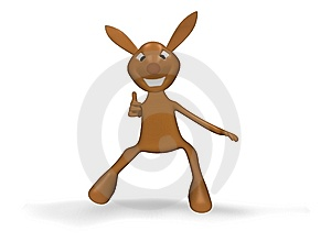 Rabbit All Is Well Stock Images - Image: 9944284