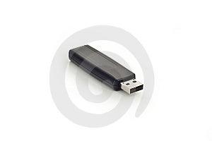 USB Memory Stick Isolated On White Stock Image - Image: 9946731