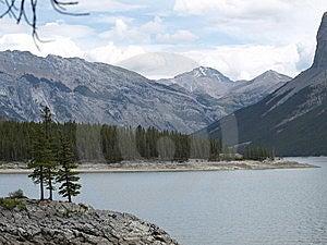 Lake Miniwanka Stock Image - Image: 9946891