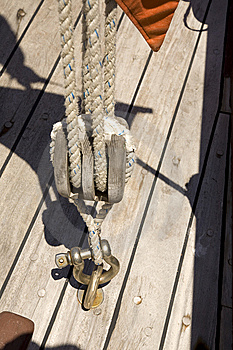 Riggings In A Vintage Ship Royalty Free Stock Image - Image: 9948516