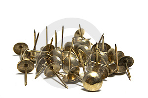 Thumb Tacks - Drawing Pins Royalty Free Stock Image - Image: 9950476