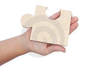 Jigsaw Metaphor Mixed Stock Photos - Image: 9950843