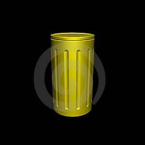 Garbage Can Royalty Free Stock Photos - Image: 9951638