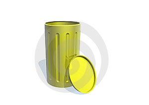 Garbage Can Royalty Free Stock Photos - Image: 9951648