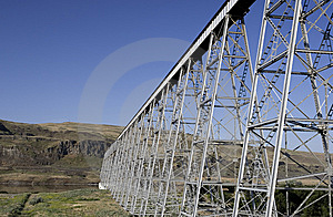 Joso Bridge In Eastern Washington. Stock Images - Image: 9953374