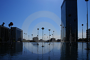 La Defense Royalty Free Stock Photo - Image: 9953635