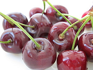 Shiny Cherries Stock Image - Image: 9954651