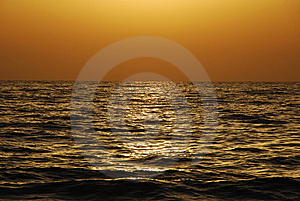 Golden Sunset Stock Images - Image: 9956374