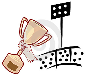 Trophy Stock Image - Image: 9958111