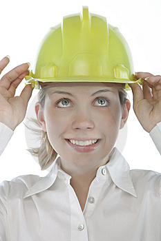 Attractive Young Engineer Stock Photos - Image: 9963733