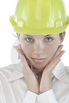 Attractive Young Engineer Stock Images - Image: 9964694