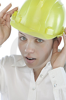 Attractive Young Engineer Royalty Free Stock Photo - Image: 9964745
