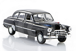 Ancient Black Car Royalty Free Stock Photos - Image: 9966698