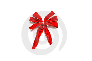 Red Bow Stock Photo - Image: 9967640