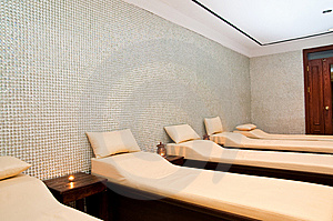 Massage Treatment Room Royalty Free Stock Image - Image: 9968056