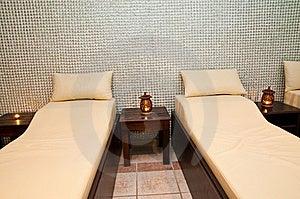 Massage Treatment Room Royalty Free Stock Image - Image: 9968076