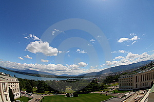 United Nations Geneva Royalty Free Stock Photos - Image: 9969258