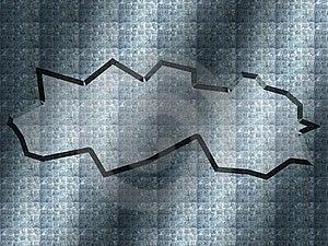 Cracked Steel Background Royalty Free Stock Photo - Image: 9970345