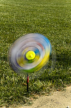 A Swirl In The Lawn Stock Photos - Image: 9970403