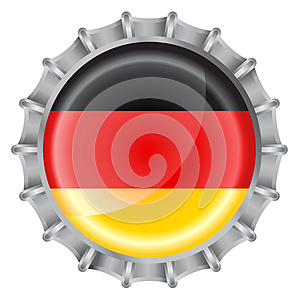 Bottle Cap Flag Stock Photo - Image: 9973080