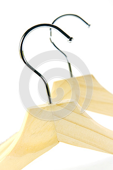 Coat Hangers Royalty Free Stock Images - Image: 9973409