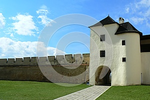 Old Gateway With Wall Royalty Free Stock Photo - Image: 9978335