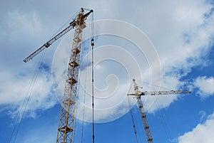 Two Cranes Stock Photos - Image: 9978953