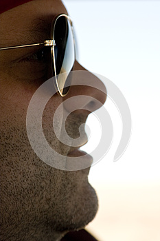Serious Male With Sunglasses Royalty Free Stock Images - Image: 9979869