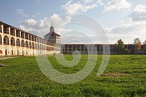 Walling Of Kirillo-Belozerskij Monastery, Russia Stock Photos - Image: 9979993