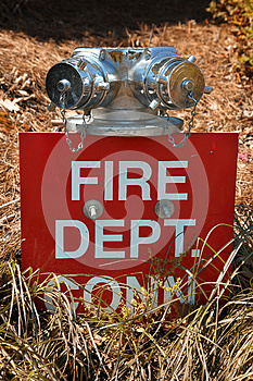 Fire Hose Connection Royalty Free Stock Image - Image: 9980316