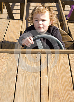 Playing Driver Stock Photography - Image: 9981292