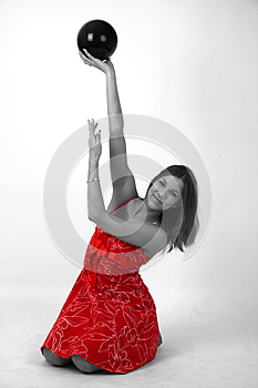 Elegant Young Woman Royalty Free Stock Photography - Image: 9982667